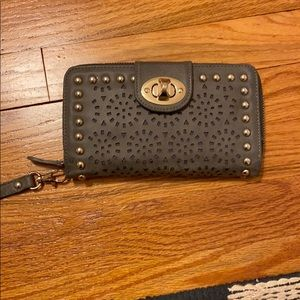 Wristlet and wallet combo
